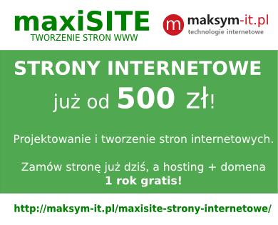 projektowanie, tworzenie strony internetowe, strony WWW, Tarnów, Brzesko, Bochnia, Dębica, Gorlice, Kraków, Rzeszów